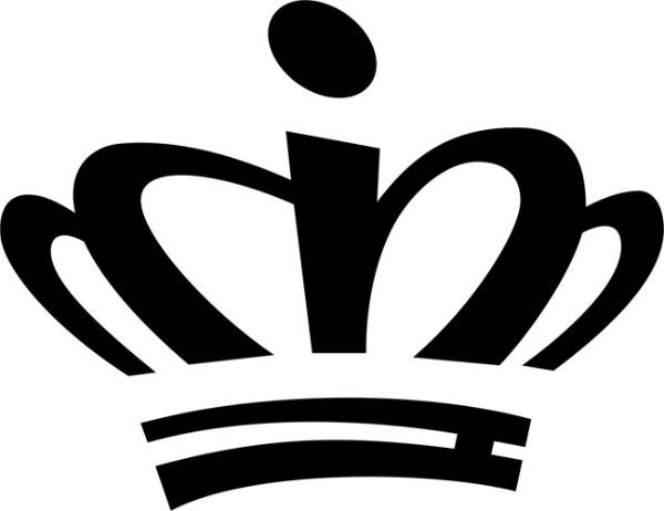 Трафарет корона фото