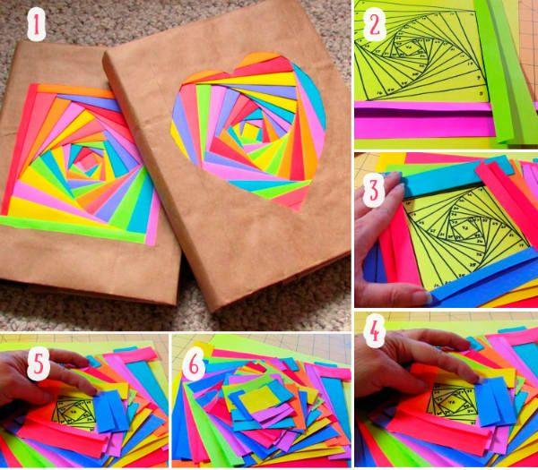 Упаковка с цветной обложкой фото