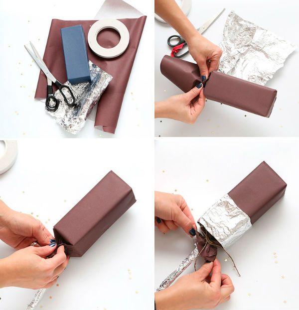 Как упаковать подарок в виде эскимо фото