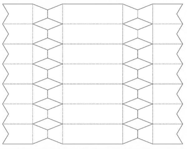 Схема упаковки конфета фото