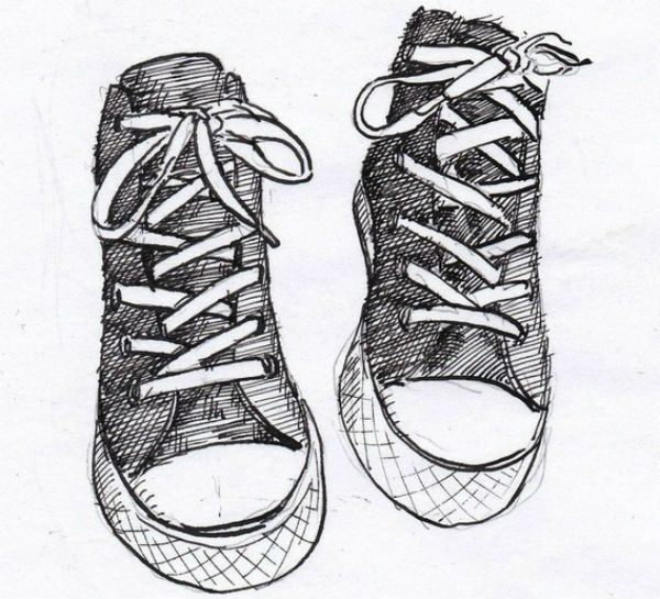 Обувь для срисовывания фото