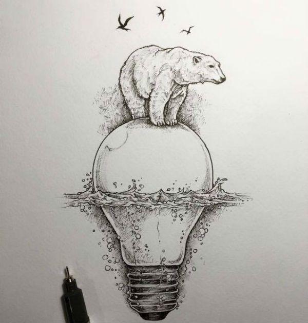 Медведь белый фото
