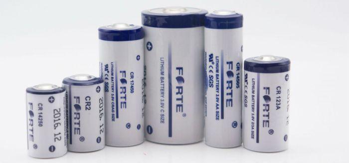 Литиевые батарейки фото