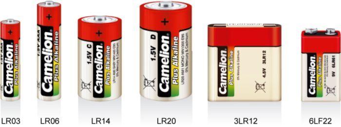 Маркировка батареек фото