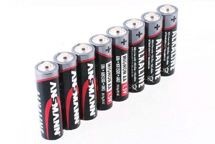 Пальчиковые батарейки фото
