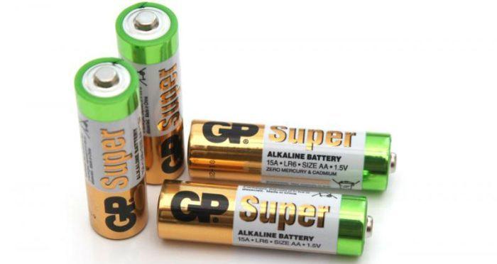 Щелочные батарейки фото