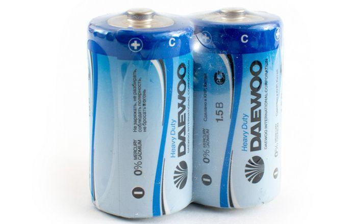 Батарейки типа С фото