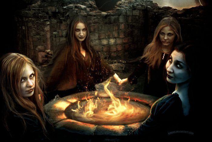 Ведьмы фото