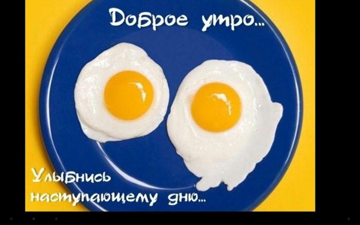 смешная картинка доброе утро