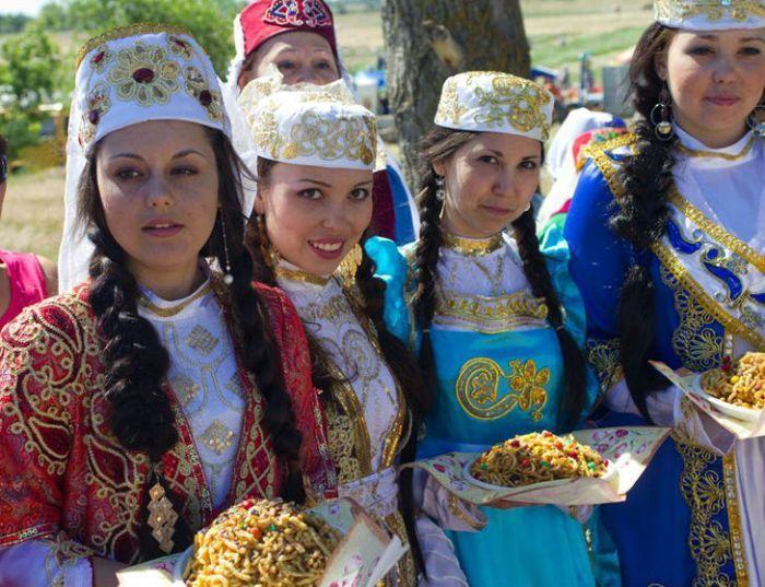 Астраханские татары фото