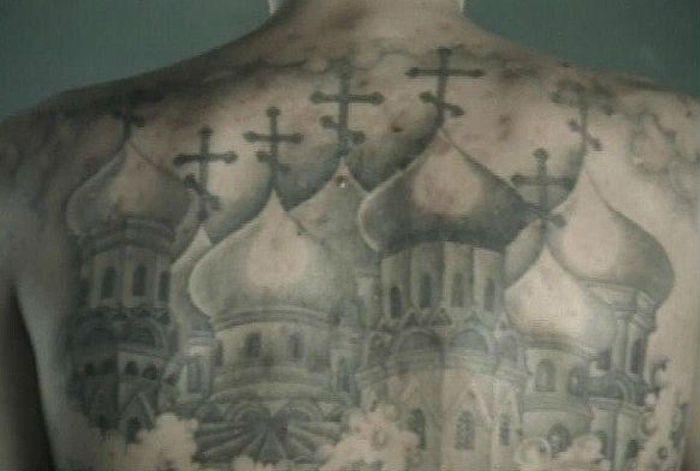 Церковь татуировка фото