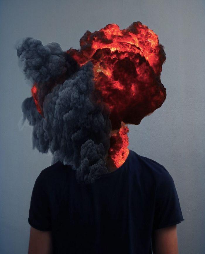 картинка на аву для парней с дымом