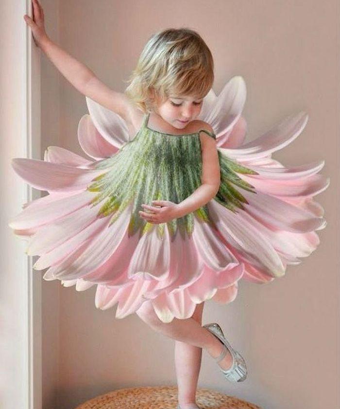 Платье-цветок фото