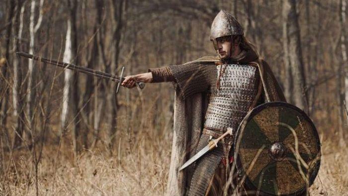Доспехи воина Древней Руси