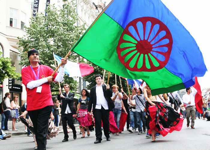 Флаг цыган фото