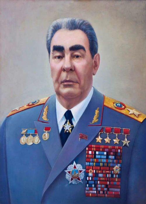 Леонид Брежнев фото
