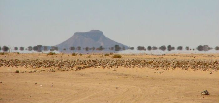 Мираж в Сахаре фото