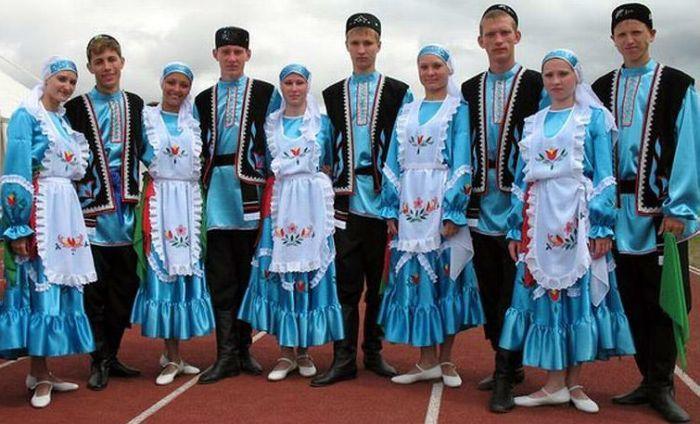 Национальная одежда татар фото