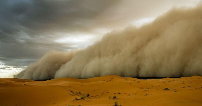 Песчаные бури фото