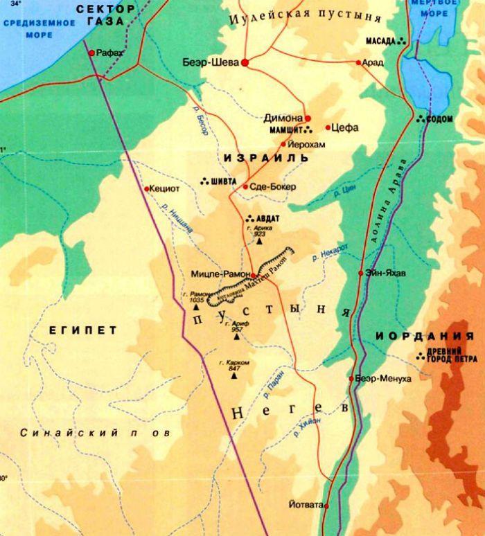 Пустыни Израиля фото