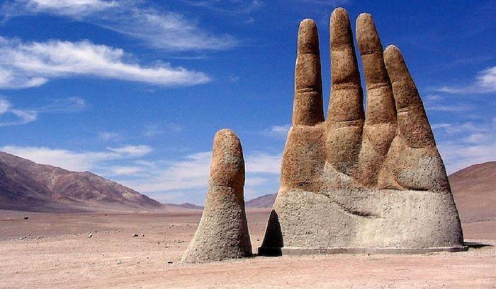 Рука пустыни фото