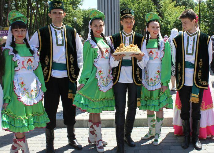 Внешность татар фото