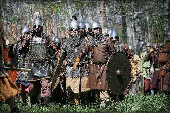 Войско в 9 - 11 веке