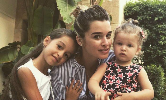 Ксения Бородина с дочерьми фото