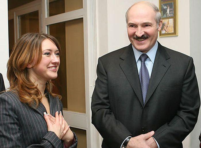 Дорофеева и Лукашенко фото