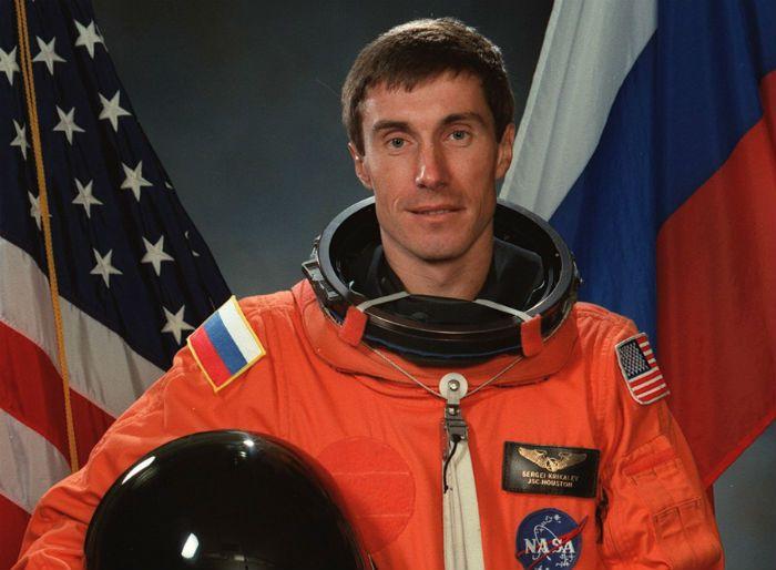 Крикалев Сергей
