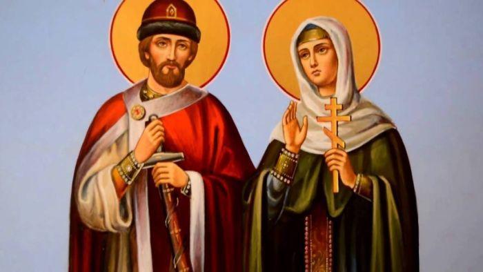 Святые Петр и Феврония фото
