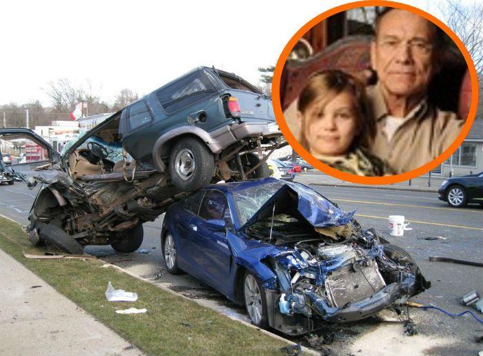 Маша Кончаловская фото аварии
