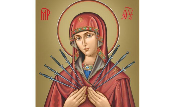 Семистрельная Богородица фото