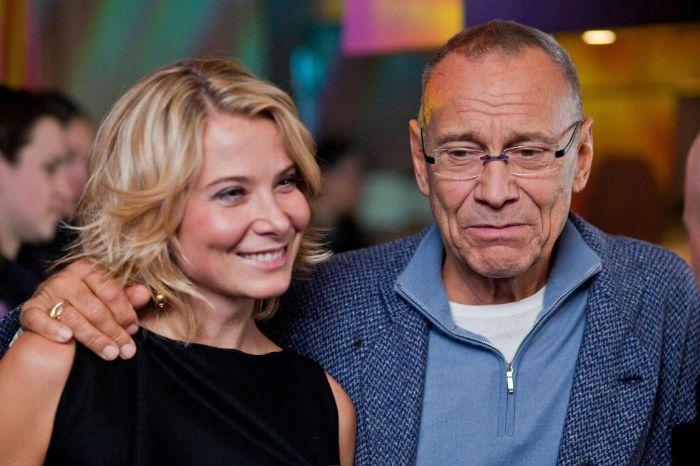 Юлия Высоцкая и Андрей Кончаловский фото