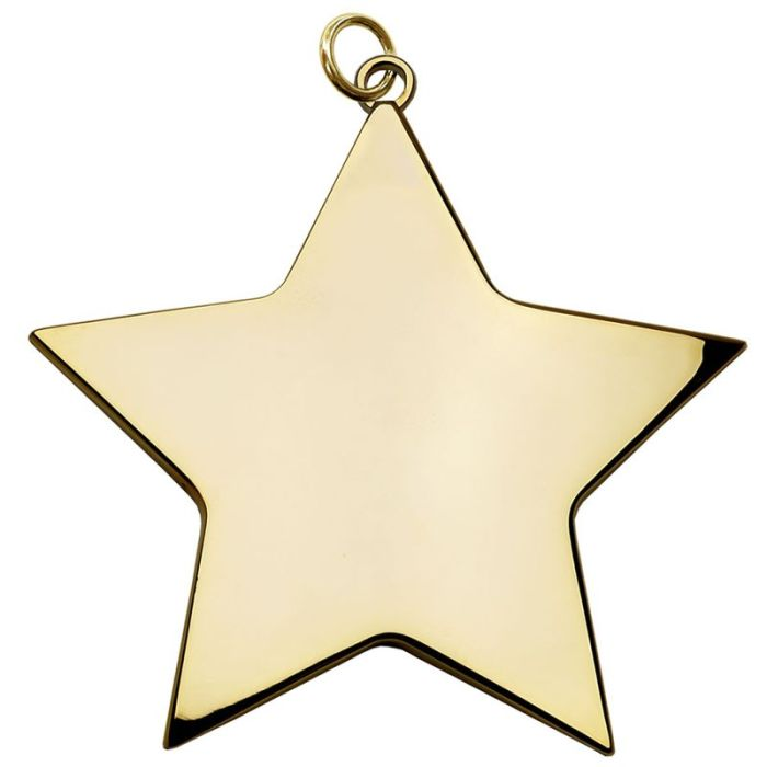Медаль-звездочка фото