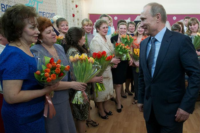 8 марта в России фото