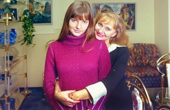 Лиза Боярская с мамой фото