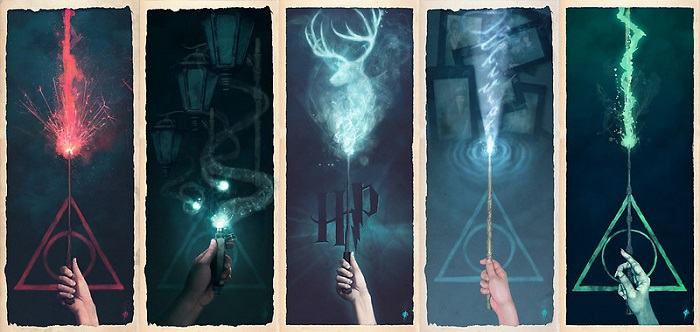 Закладки Гарри Потер фото