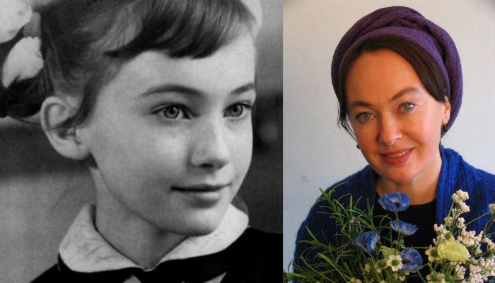 Лариса Гузеева в детстве и сейчас фото