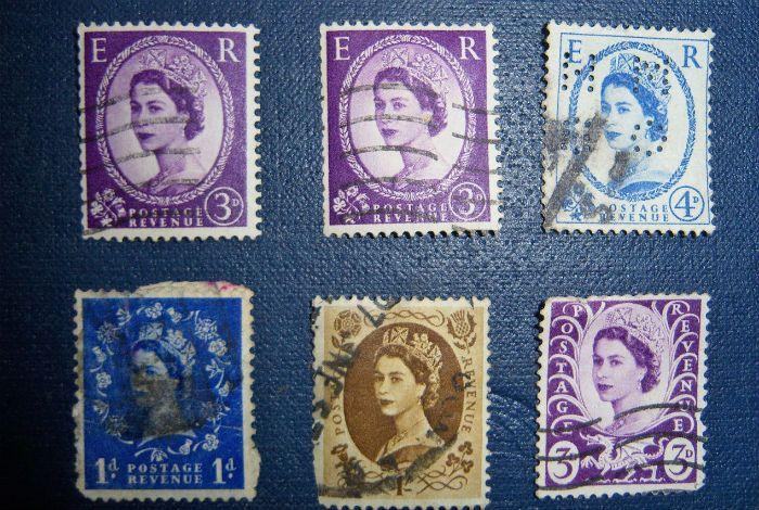 Почтовые марки фото
