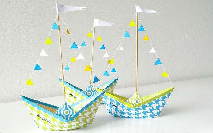 Кораблик из бумаги фото