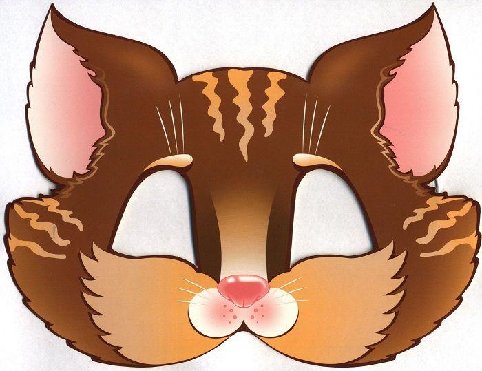 Маска кошки