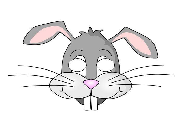 Маска кролика
