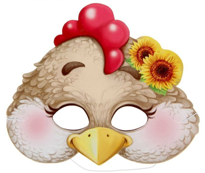 Маска курицы