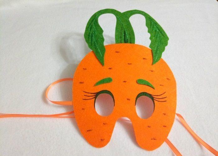 Маска морковки