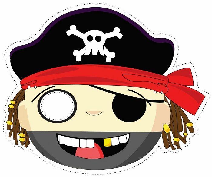Маска пирата