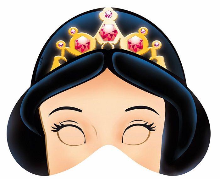 Маска принцессы на голову