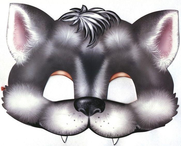 Маска волка на голову