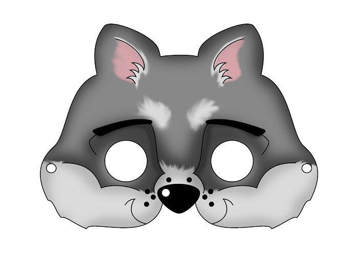 Маска волка