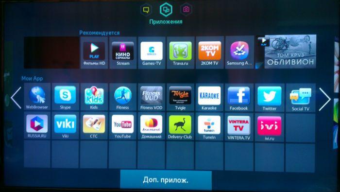 Приложения на телевизоре фото